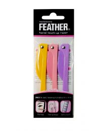 Feather Flamingo Facial Razor