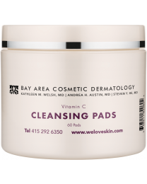 Bay Area Cosmetic Dermatology Antioxidant Cleansing Pads