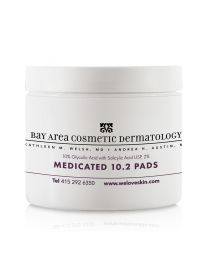 Bay Area Cosmetic Dermatology Glysolic/Salicilic Acid Medicated 10.2 Pads