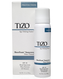 TiZO SheerFoam Sun Protection SPF 30